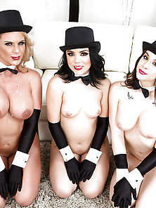 Chanel Preston,  Kristina,  Phoenix Marie - Newyears Eve Party