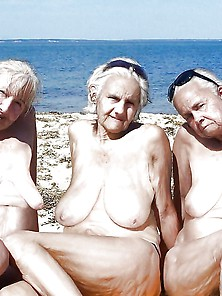 Bbw Matures And Grannies At The Beach 268