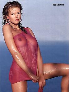 Kirsten Imrie Wet Semi-Topless | Pimpandhost. Com