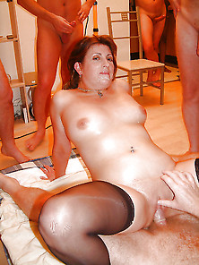 Exposed Wives - Gangbang Wives 7