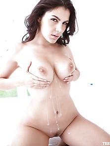 Valentina Nappi - Noir Photoshoot