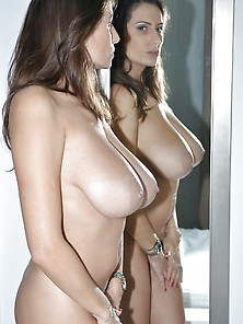 Sensual Jane Shares Her Massive Knockers.