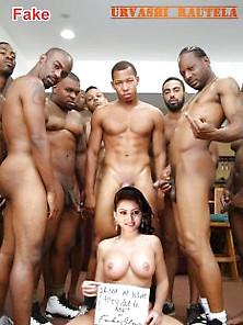 Nude Urvashi Rautela Enjoying Gangbang Sex