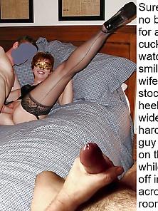Cuckold Voyeur Captions 2