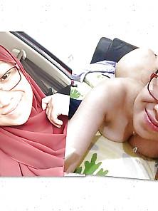 Asian Hijab Mature Blowjob And Showering