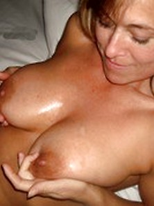 An Image By Gaboy667: Ama Milf Wears Cum On Her Tits.  |