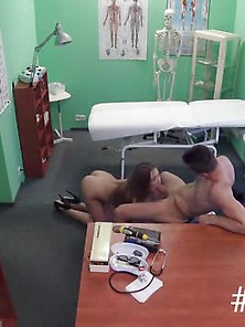 Sexy Nurse Fuck Muscular Dude In Hospital