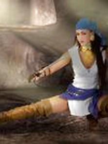 Cosplayerotica: Nia's Alluring Isabela Cosplay Via Altporn. Net