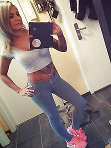 German Hot Blonde Babe