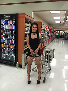 I See This Babe Regularly At The Supermarket...  Today I'm
