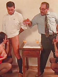 Sheila Stone + Karma Black Stockings Foursome