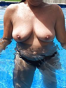 Another Topless Sunbathing Plus Bonus Pussy Flash