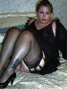Matura Sexy Stockings Senza Mutandine