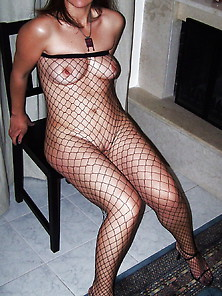 Fishnet Stockings-Calze A Rete 4