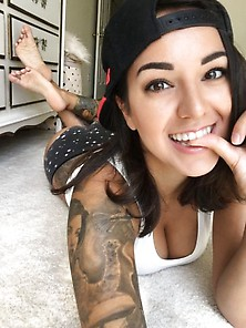 Cutie With Tattoos