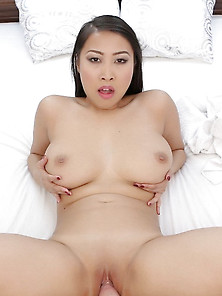 Hot Asian Big Boobs Shaved Pussy Fucking Pov