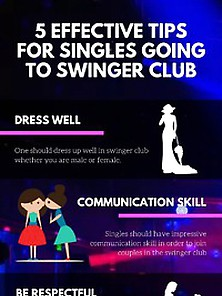 5 Effective Tips For Singles Going To Swinger Clubs