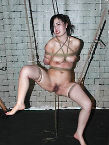 A Chinese Porn Star In Bondage