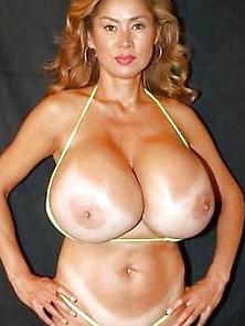 Ariel redhead topless