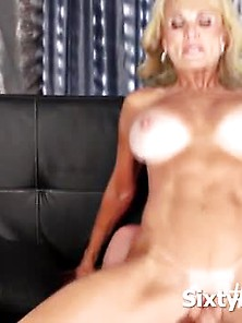 Dirty Mature Slut Jumped On A Fat Dick