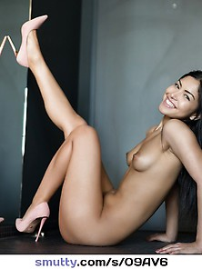 Just High Heels And A Smile