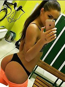 Ass Thong & Iphone – Real Amateur Girlfriends