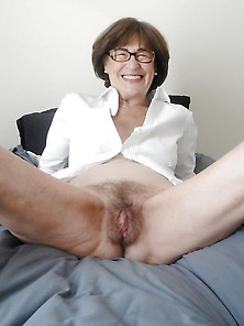 Granny With Hairy Twat